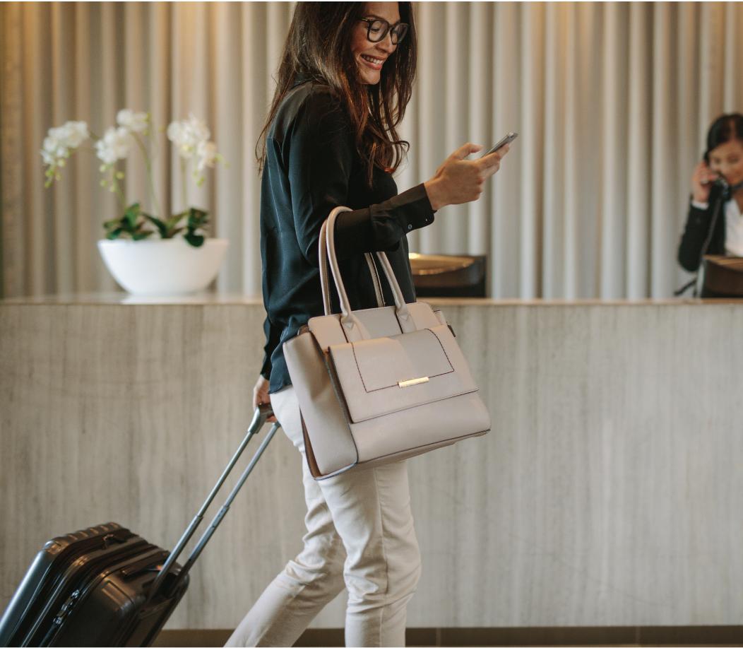 Solução de pagamento Hotelaria