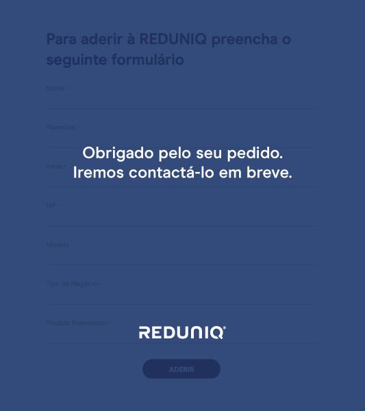 Pedido de Contacto - REDUNIQ
